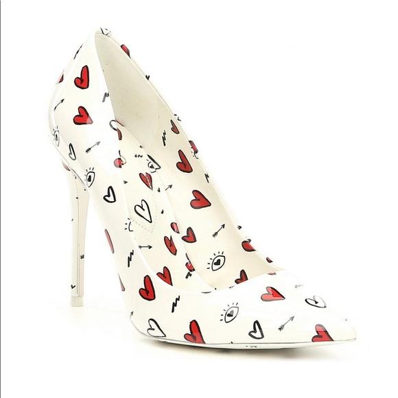 Aldo Shoes | Aldo Heart Print Pumps